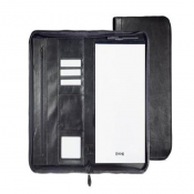 New Ebony A4 Zipper Portfolio